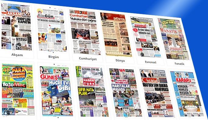 Gazetelerin bugünkü manşetleri 19 Ocak 2018