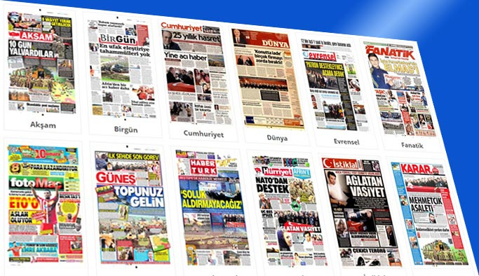 Gazetelerin bugünkü manşetleri 25 Ocak 2018