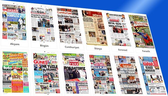 Gazetelerin bugünkü manşetleri 5 Ocak 2018