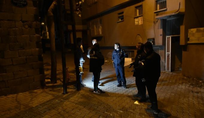 Gaziantep'te polise av tüfeğiyle ateş edildi