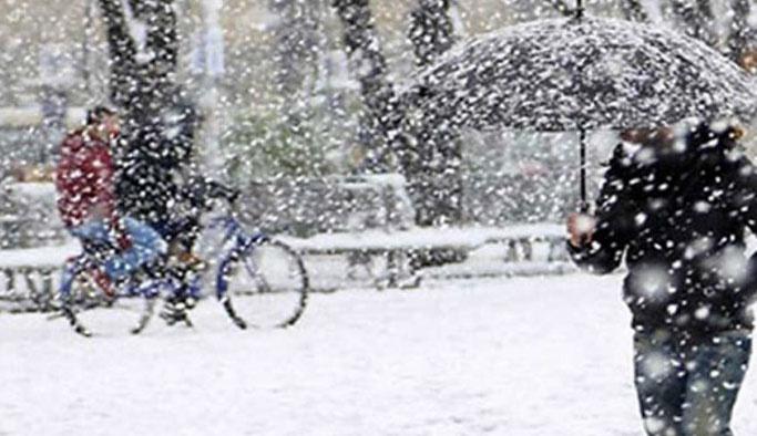 İstanbul'a beklenen kar yağışı bugün geliyor