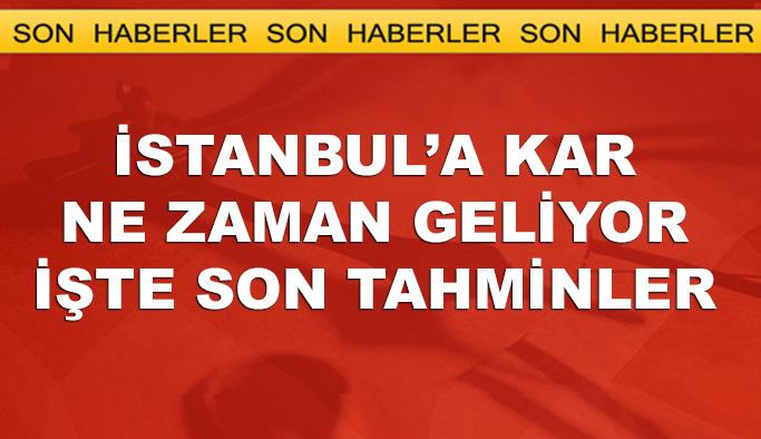 İstanbul'a ne zaman kar geliyor, işte en son tahmin
