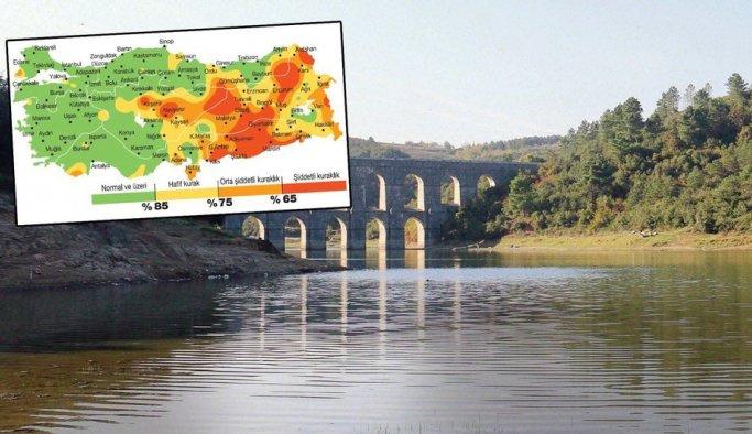 İstanbul'da barajlar dolu ama Anadolu'da durum vahim