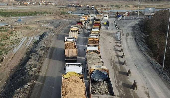 İstanbul'daki 11 bin kamyona takip cihazı