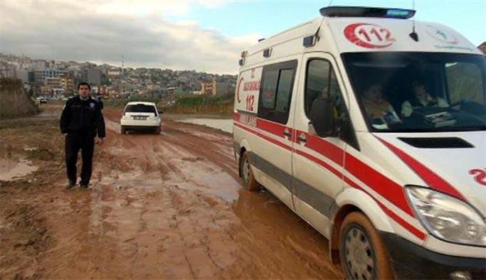 İzmir'de yürek burkan olay