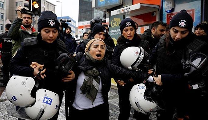 Kadıköy'deki Afrin protestolarında 11 kişi tutuklandı