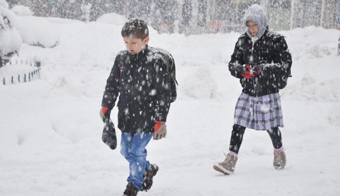 Karne günü okullara kar tatili