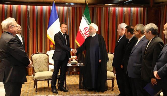 Macron İran için Trump'ı aradı