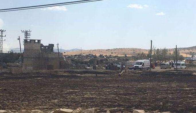 Mardin'de sınır karakoluna taciz ateşi