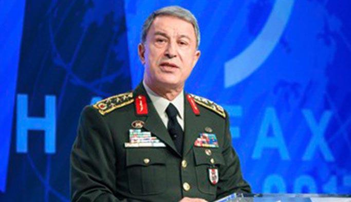 Orgeneral Akar'dan NATO'ya YPG uyarısı