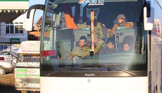 ÖSO birlikleri karadan Afrin'e girdi