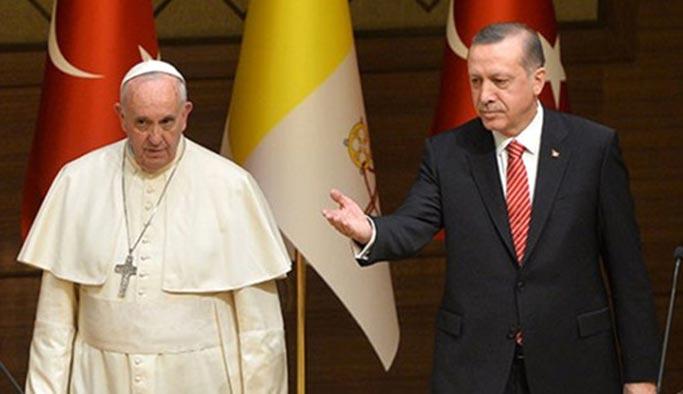 Papa, Erdoğan'ı Vatikan'a davet etti