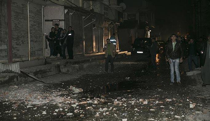 Roketli saldırı düzenleyen mevziler imha edildi
