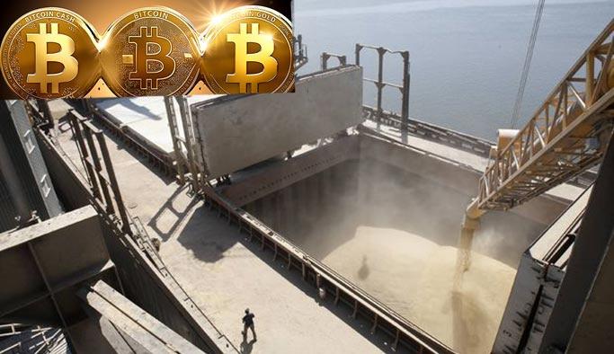 Rusya'dan gelen buğdayın kargo ücreti bitcoin ile ödendi