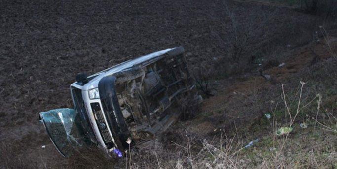 Sakarya'da kaza: 12 yaralı