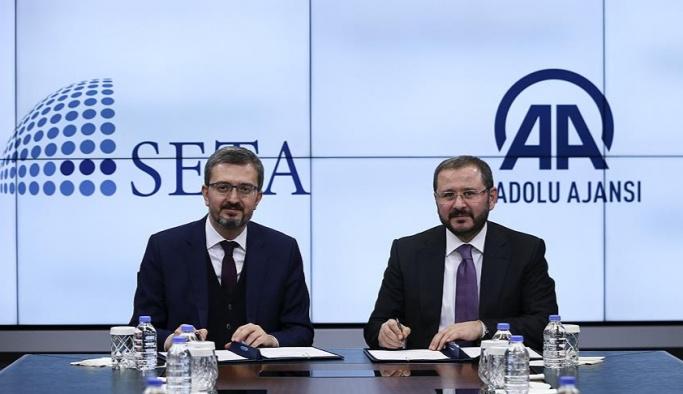 SETA Vakfı ile AA arasında iş birliği
