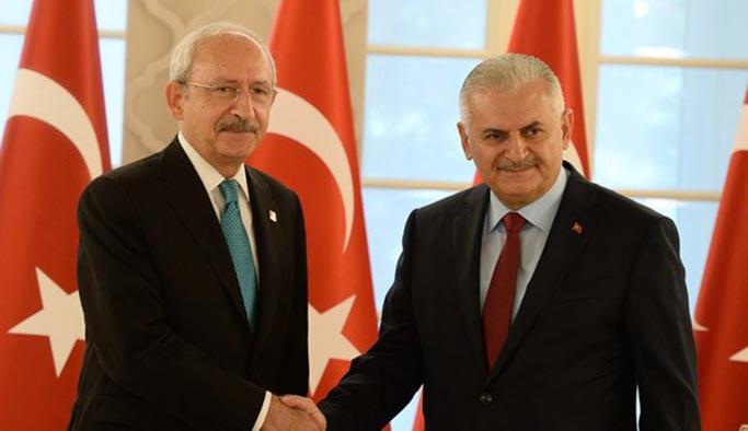 Son Dakika: Başbakan Yıldırım, Kılıçdaroğlu ile görüşecek