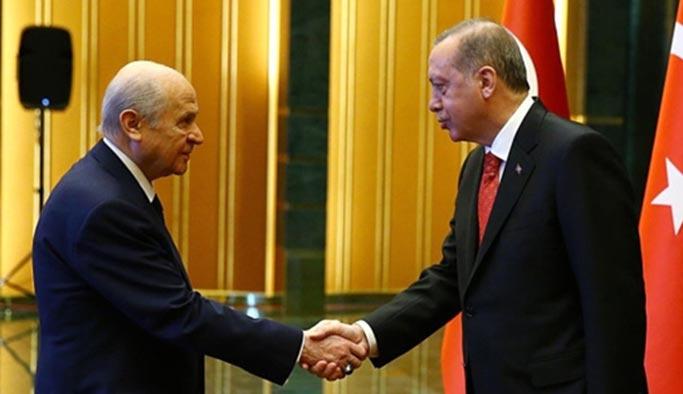 Son Dakika Haberi: Erdoğan ile Bahçeli görüştü