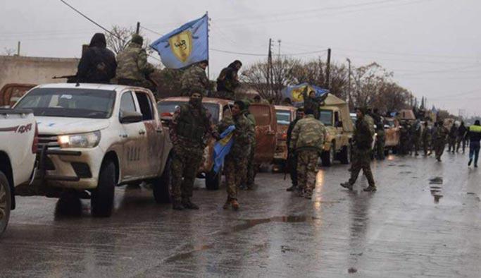 Terör örgütü Afrin için yığınak yapmaya başladı