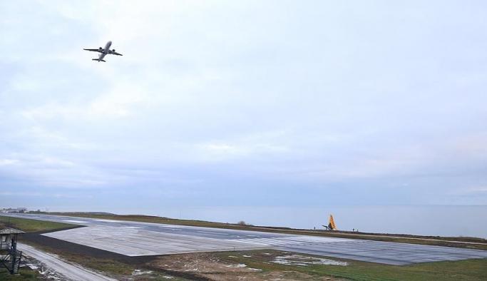 Trabzon'daki uçak kazasından sonra uçuşlar yeniden başladı