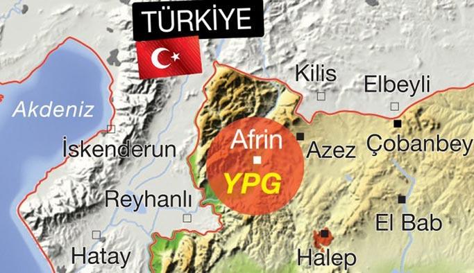 TSK Afrin için yeni bir gözlem noktası kurdu