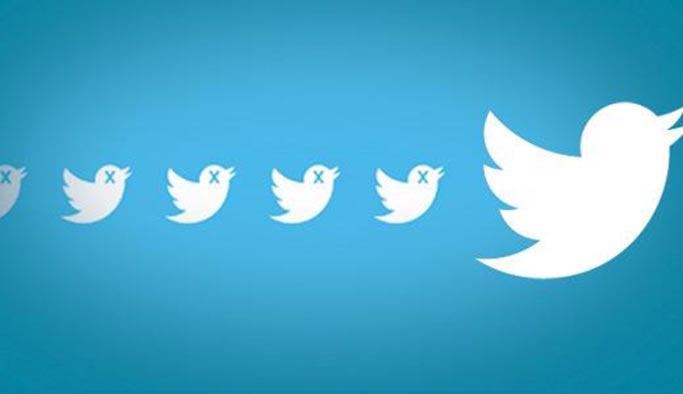 Twitter'da sahte takipçi satanlar ya da alanlar yandı