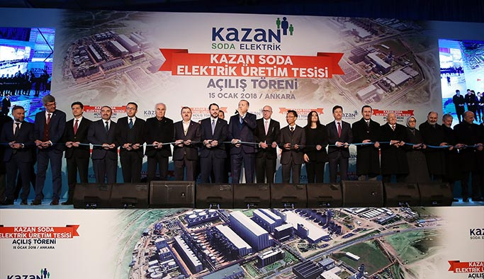 Yılın ilk büyük yatırımı 1,5 milyar dolarla Ankara'da