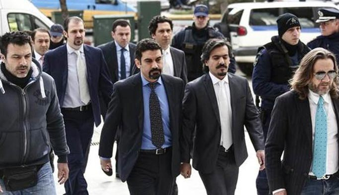 Yunanistan'dan darbeci askerlere şok, yeniden gözaltı kararı