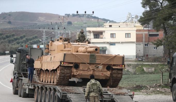 Afrin'e kara harekatı da başladı