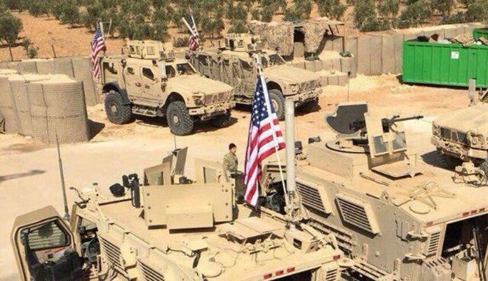 ABD'den Münbiç'e asker ve zırhlı araç takviyesi