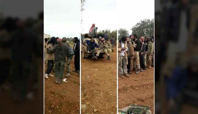 ABD'nin İdlib'e kaydırdığı 340 DEAŞ'lı terörist teslim oldu