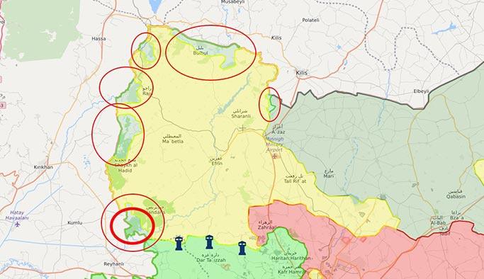 Afrin Cinderes bölgesinde sıcak çatışma, şehit ve yaralılar var