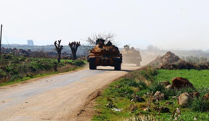 Afrin'de dün bir asker şehit düştü