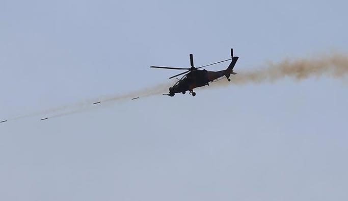 Afrin'de düşen helikopterde bulunan iki asker şehit düştü