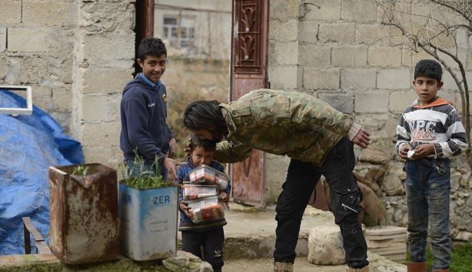 Afrin'de bir günde 10 köy temizlendi