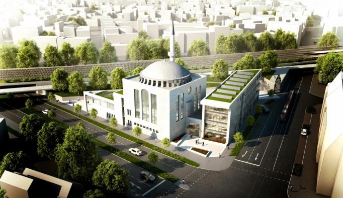 Almanya'nın Krefeld kentine modern cami projesi