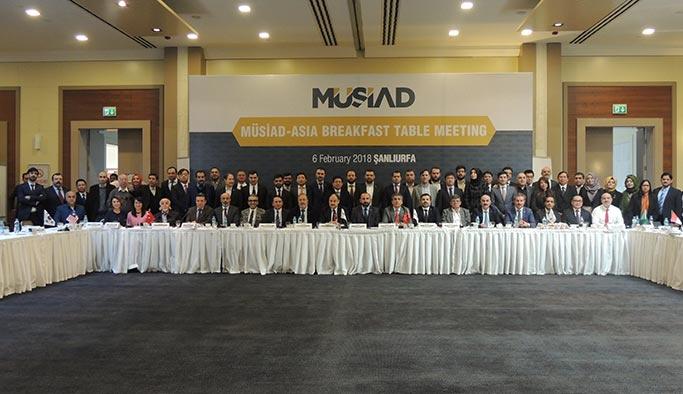 Asya'nın Geleceği MÜSİAD'da Görüşüldü