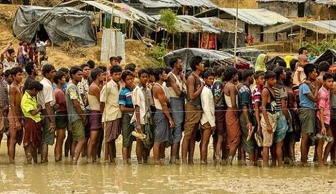 'Bangladeş'teki 100 binden fazla Arakanlının hayatı tehlikede'