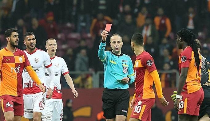 Belhanda'ya kırmızı kart