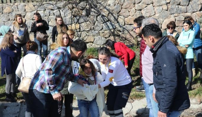 Bolu'da zincirleme trafik kazası: 11 yaralı