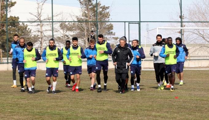 Büyükşehir Belediye Erzurumspor'da Gaziantepspor maçı hazırlıkları