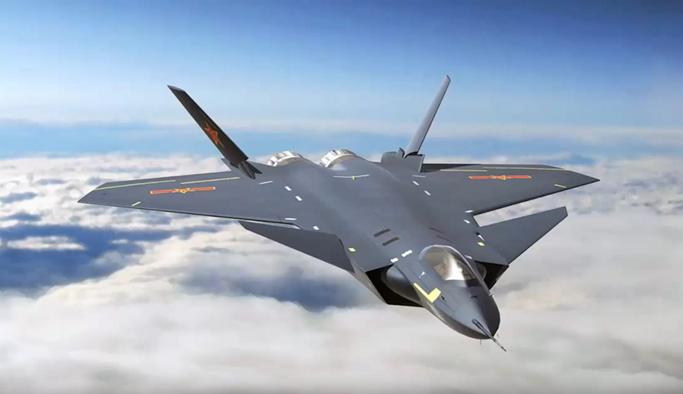 Çin'in süper savaş uçağı J-20 göreve başladı