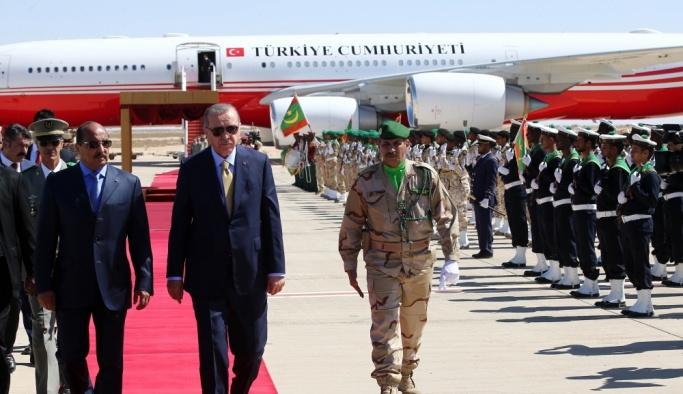 Moritanya esnafından 'Erdoğan' indirimi