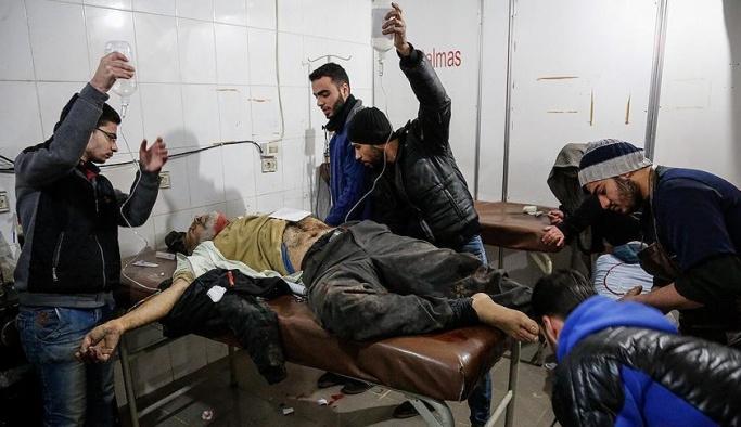 Doğu Guta'da son 24 saatte ölen sivil sayısı 167'ye yükseldi