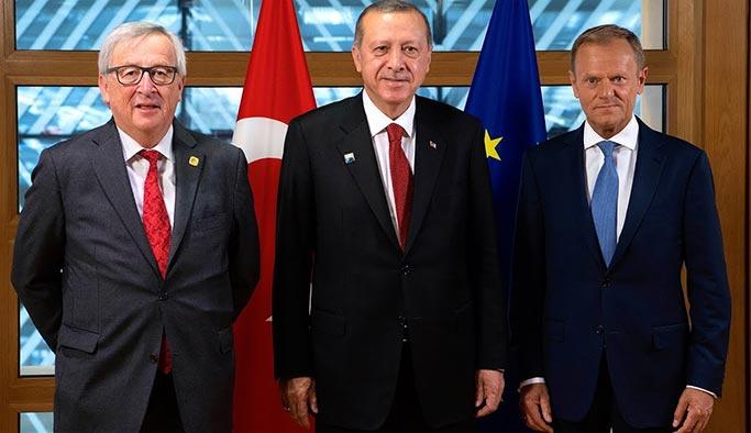 Erdoğan AB liderleriyle görüşecek