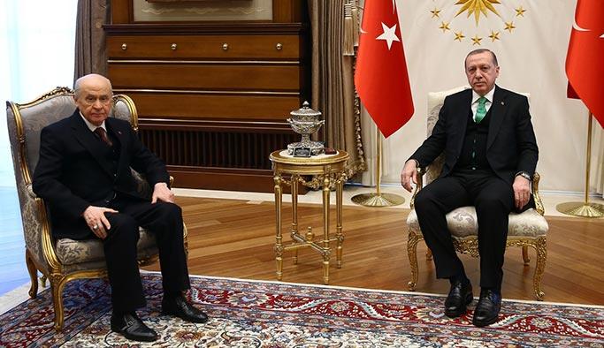 Erdoğan-Bahçeli görüşmesinin sonucu açıklandı