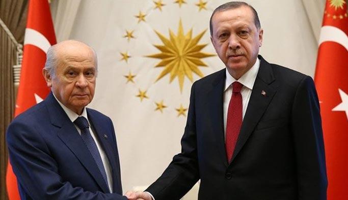 Erdoğan ile Bahçeli telefonda görüştü, randevulaştı
