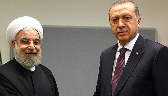 Erdoğan, Ruhani ile telefonla görüştü