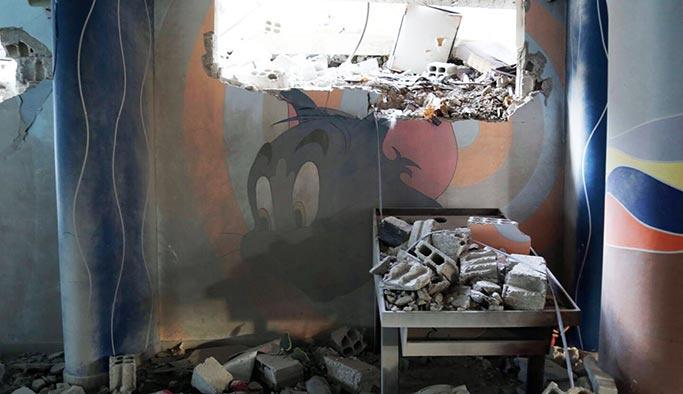 Esed rejimi, Doğu Guta'da yetimhaneye saldırdı