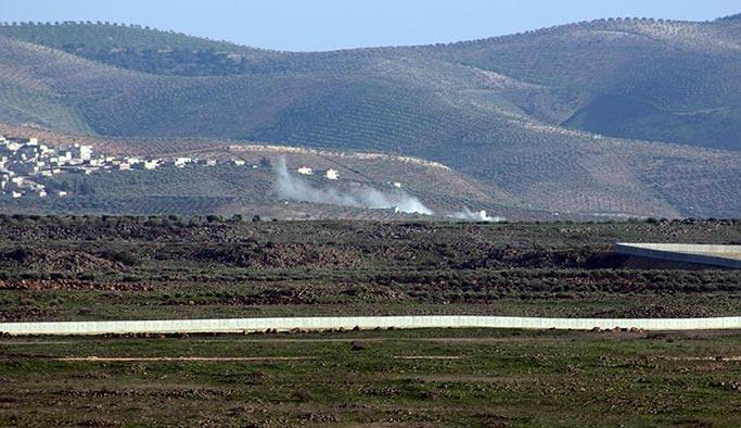 Esed yanlıları Afrin'e giremeden geri kaçtı